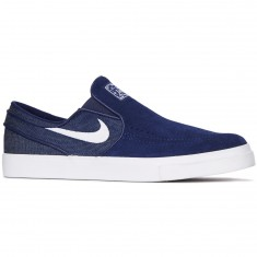 Nike Zoom Stefan Janoski Slip-On Shoes - Binary Blue/White