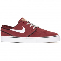 Nike Zoom Stefan Janoski Shoes - Red/White/Black Gum