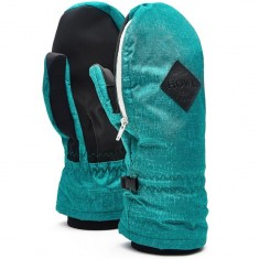 Howl Indy Mitt Snowboard Gloves - Green