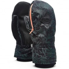 Howl Indy Mitt Snowboard Gloves - Black