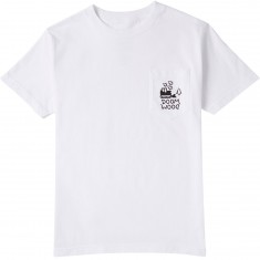 Doom Sayers Doom Wood Pocket T-Shirt - White