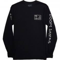 Doom Sayers Snake Shake Long Sleeve T-Shirt - Black
