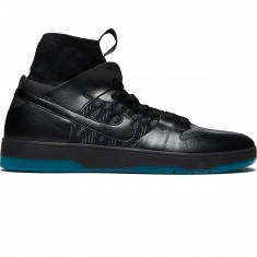 Nike SB Zoom Dunk High Elite Shoes - Black/Black/Dark Atomic Teal