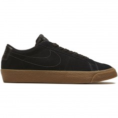 Nike SB Air Zoom Blazer Low Shoes - Black/Black Anthracite