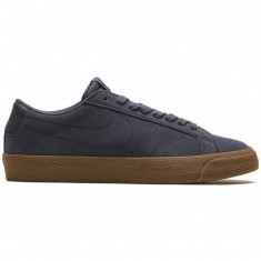 Nike SB Air Zoom Blazer Low Shoes - Thunder Blue/Brown Gum