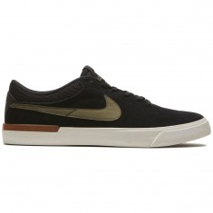 Nike SB Koston Hypervulc Shoes - Black/Medium Olive/Brown Gum
