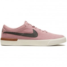 Nike SB Koston Hypervulc Shoes - Elemental Pink/Black/Medium Brown Gum