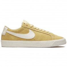 Nike SB Air Zoom Blazer Low Shoes - Lemon Wash/Summit White