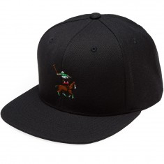Everybody Skates Leaper Snapback Hat - Black