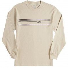 WKND Stripes Long Sleeve T-Shirt - Sand