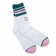 WKND Stripe Socks - White