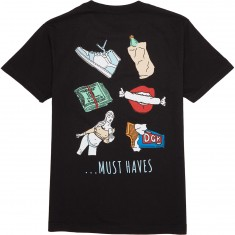 DGK Must Haves T-Shirt - Black
