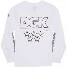 DGK Technique Long Sleeve T-Shirt - White