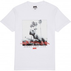 DGK Man's Best Friend T-Shirt - White