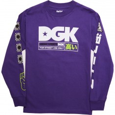DGK High Vibes Long Sleeve T-Shirt - Purple