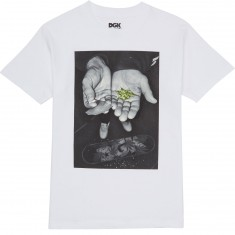 DGK Roll Up T-Shirt - White