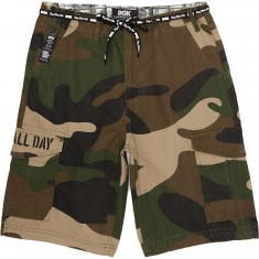DGK O.G. Cargo Shorts - Big Woods Camo
