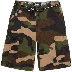 DGK OG Cargo Shorts - Big Woods Camo