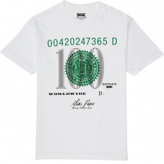 DGK Currency T-Shirt - White