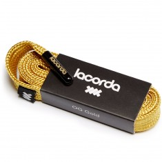 Lacorda OG Shoelace Belt - Gold