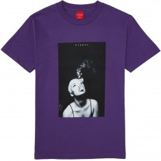 VISUAL Smoke Trails T-Shirt - Purple