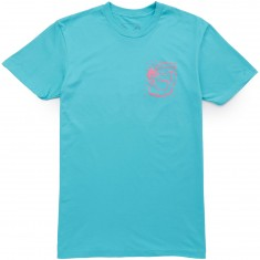 Old Friends Smash T-Shirt - Turquoise