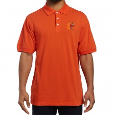 Illegal Civilization Dino Polo Shirt - Orange