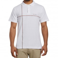 Illegal Civilization Polo Shirt - White/Brown