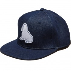 Antler And Woods Walrus Denim Hat - Denim