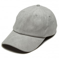 Antler And Woods Solid Suede Hat - Grey
