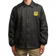 DGK Good Fight Coaches Jacket - Black