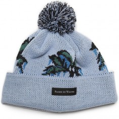 Raised By Wolves Palm Tuque Beanie - Ice Blue Acrylic
