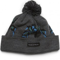 Raised By Wolves Palm Tuque Beanie - Heather Charcoal Acrylic