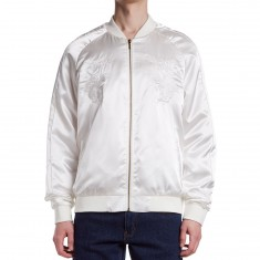 Standard Issue Tonal Tiger Jacket - White