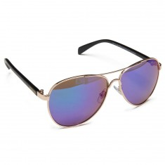 Happy Hour Mavericks Sunglasses - Gold/Black