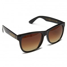c5d6aabec4b Sunglasses Lens. Polarized · Mirror · Happy Hour Swag Sunglasses - Gloss  Black Dark Amber
