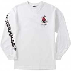 Benny Gold Alyasha Moore Guest Artist Longsleeve T-Shirt - White