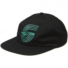 Benny Gold Track Canvas Polo Hat - Black