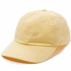 Welcome Tonal Scrawl Unstructured 6-Panel Hat - Yellow
