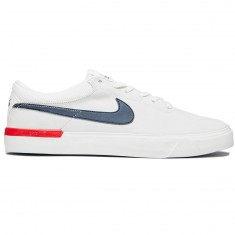 Nike SB Koston Hypervulc Shoes - Summit White/Obsidian/University Red