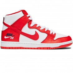 Nike SB Future Court Zoom Dunk High Pro Shoes - University Red/University Red/White