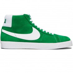 Nike SB Zoom Blazer Mid Shoes - Pine Green/White