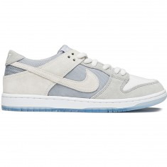 Nike SB Zoom Dunk Low Pro Shoes - Wolf Grey/Summit White/Clear