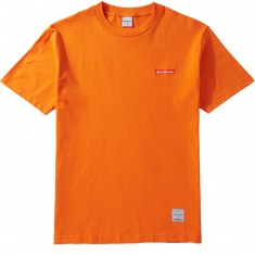 40s And Shorties Text Logo Embroidered T-Shirt - Orange