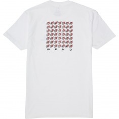 WKND Fire Power T-Shirt - White