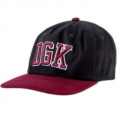 DGK Champ Strapback Hat - Black