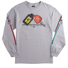 DGK Swervin Longsleeve T-Shirt - Athletic Heather