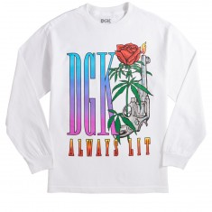 DGK Always Lit Longsleeve T-Shirt - White