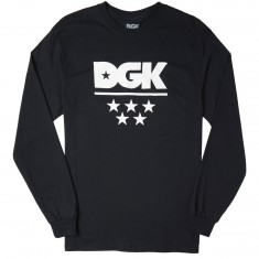 DGK All Star Longsleeve T-Shirt - Black
