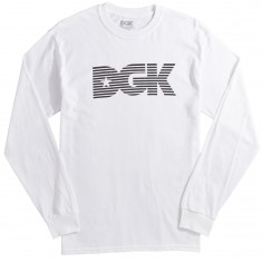 DGK Levels Longsleeve T-Shirt - White